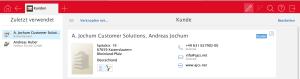 AppDesigner - Adressdatensatz